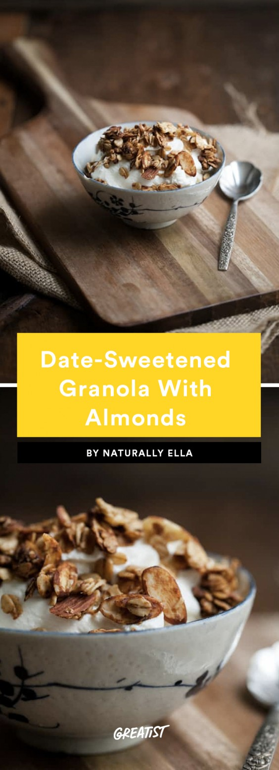 1. Date-Sweetened Granola With Almonds
