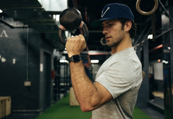 Kettlebell Workouts: A Bottoms-Up Series for Shoulders