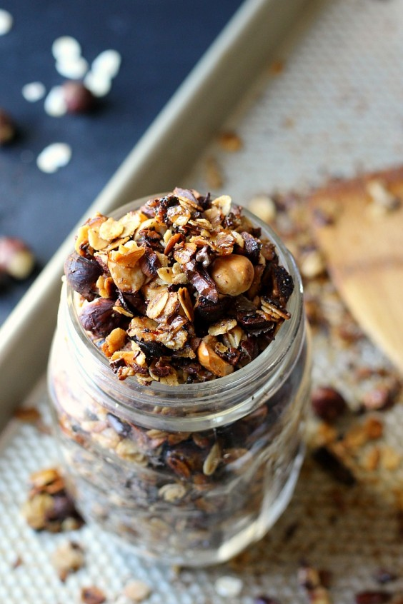 1. Toasted Chocolate Hazelnut Granola