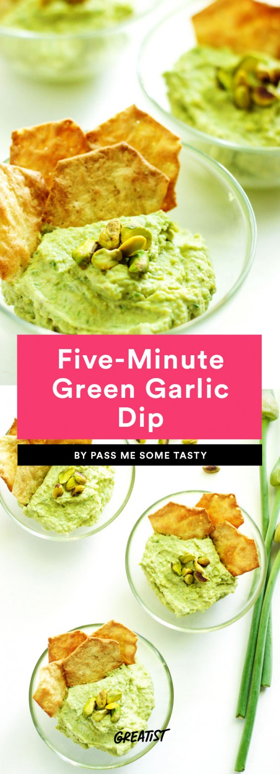 Five-Minute Green Garlic Dip