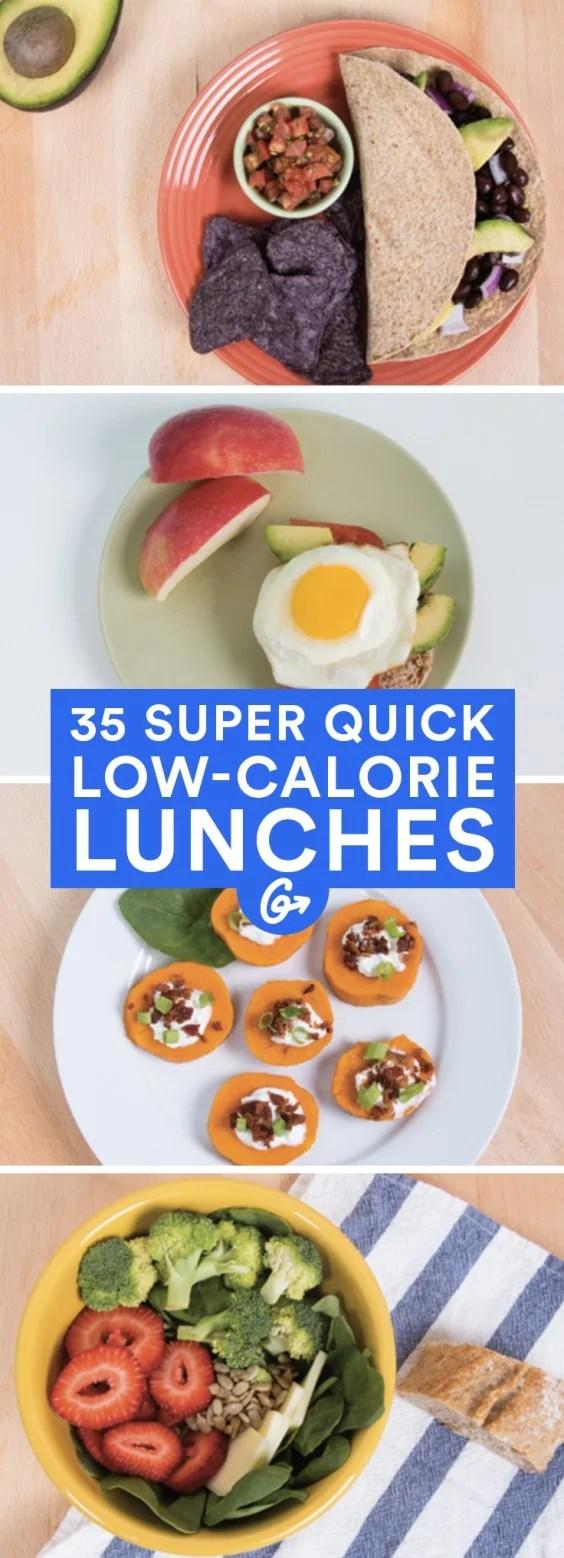 35 Low Calorie Lunches Wraps Sandwiches Burgers Salads More