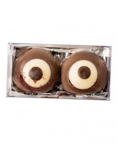PB&J Chocolate Eyeballs