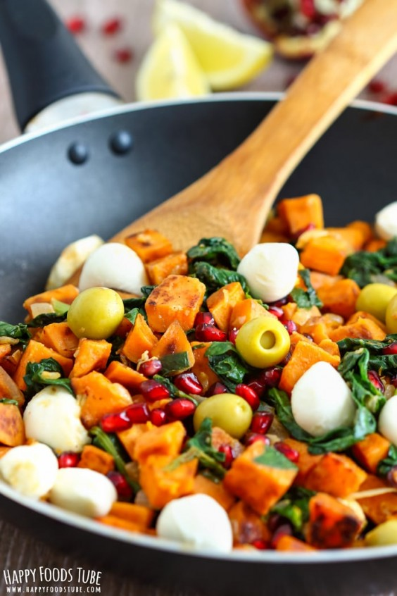 Mediterranean Sweet Potato Hash Recipe