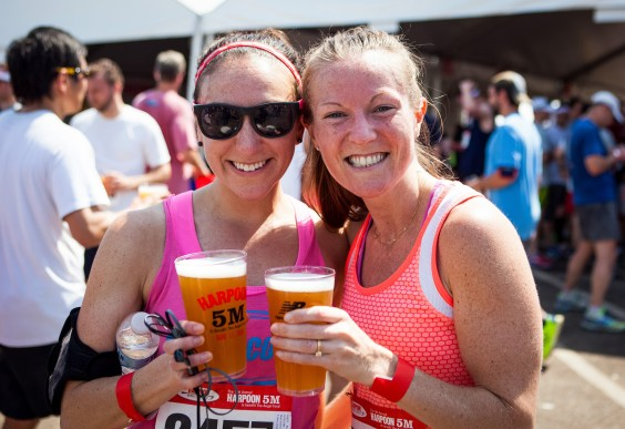 Races That Involve Booze - Harpoon 5-Miler