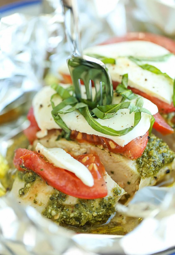 Pesto Caprese Chicken Recipe