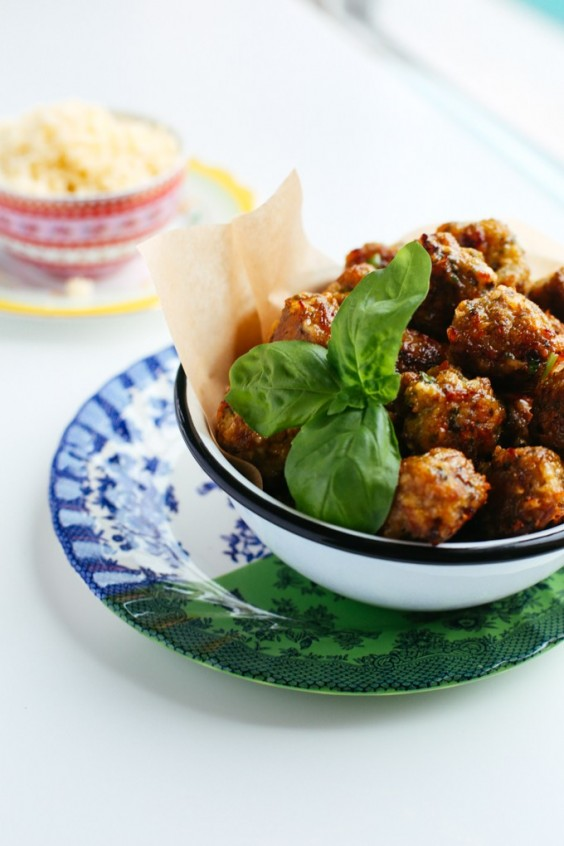 4. Oven-Baked Meatballs