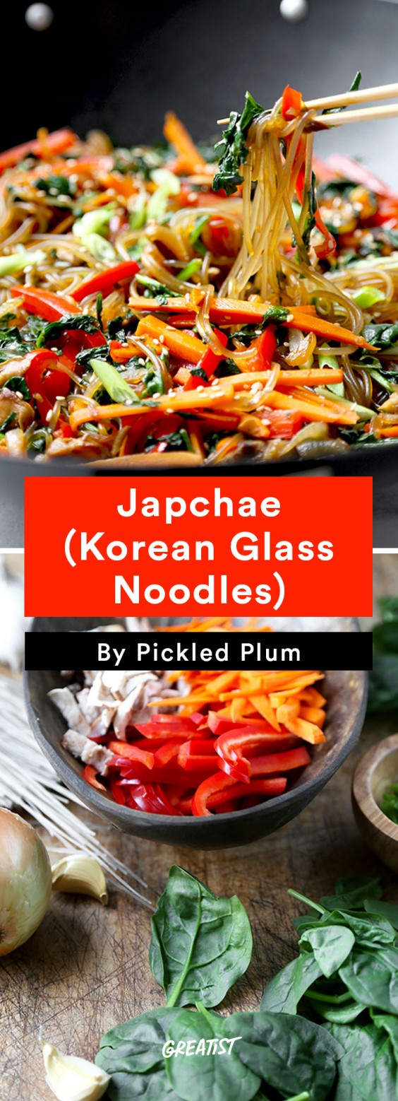 Pickled Plum: Japchae