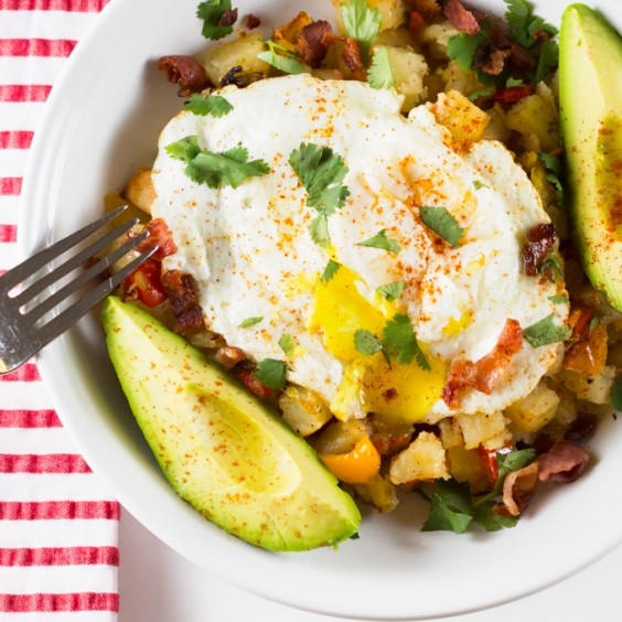 4. Roasted Potato Breakfast Bowl