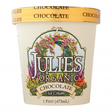 Julie's Organic Chocolate Ice Cream