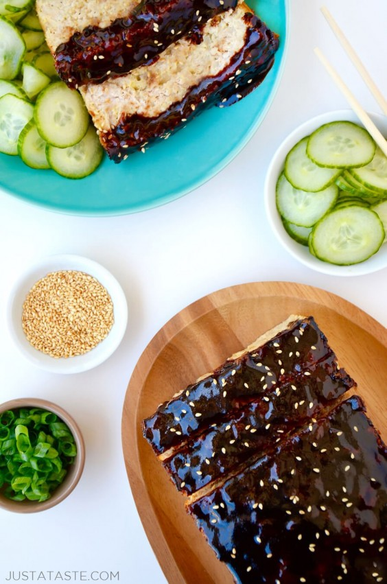 14. Glazed Asian Chicken Meatloaf