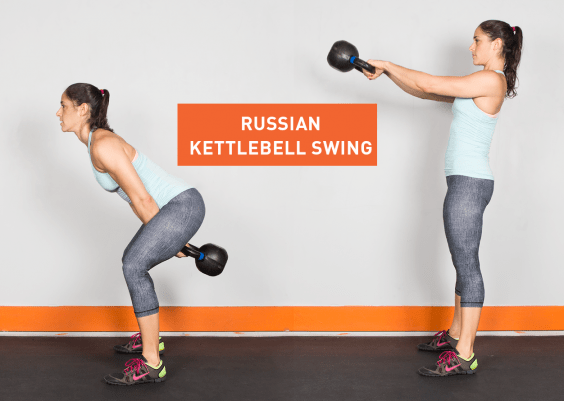 Kettlebell Workout for Women: Legs, Shoulders, Chest, Core
