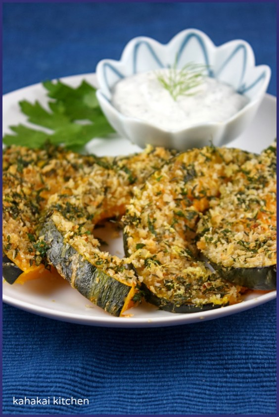 15. Parmesan and Herb Crusted Kabocha With Yogurt
