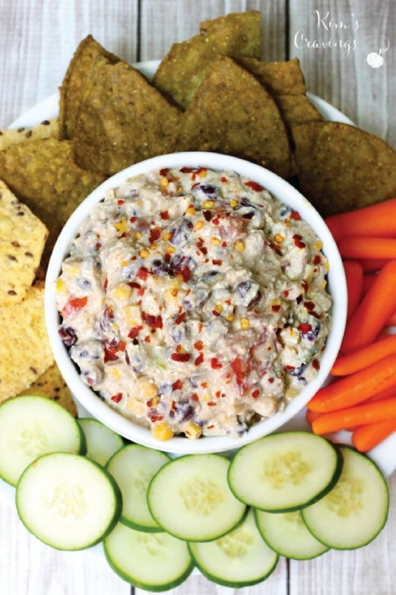 6. Skinny Mexican Cottage Cheese Dip