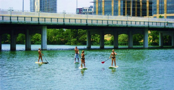 Lady Bird Lake Paddleboarding