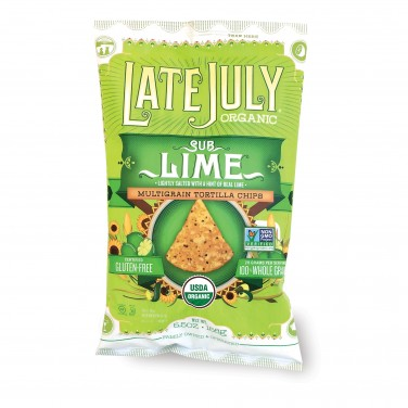 Late July SubLime Organic Multigrain Tortilla Chips