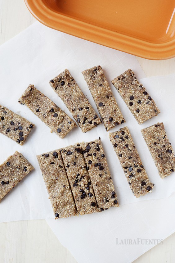 12. Chocolate Chip Cookie Dough Snack Bars