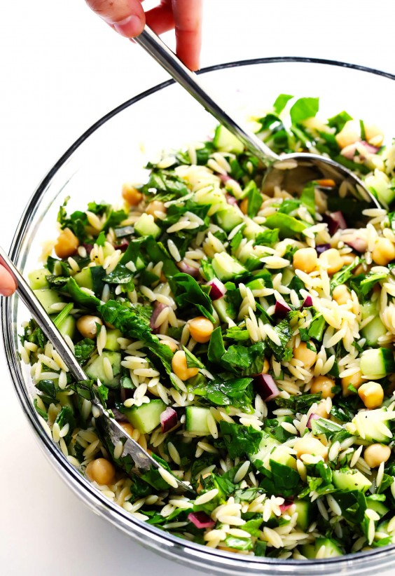 Lemony Orzo Salad Recipe