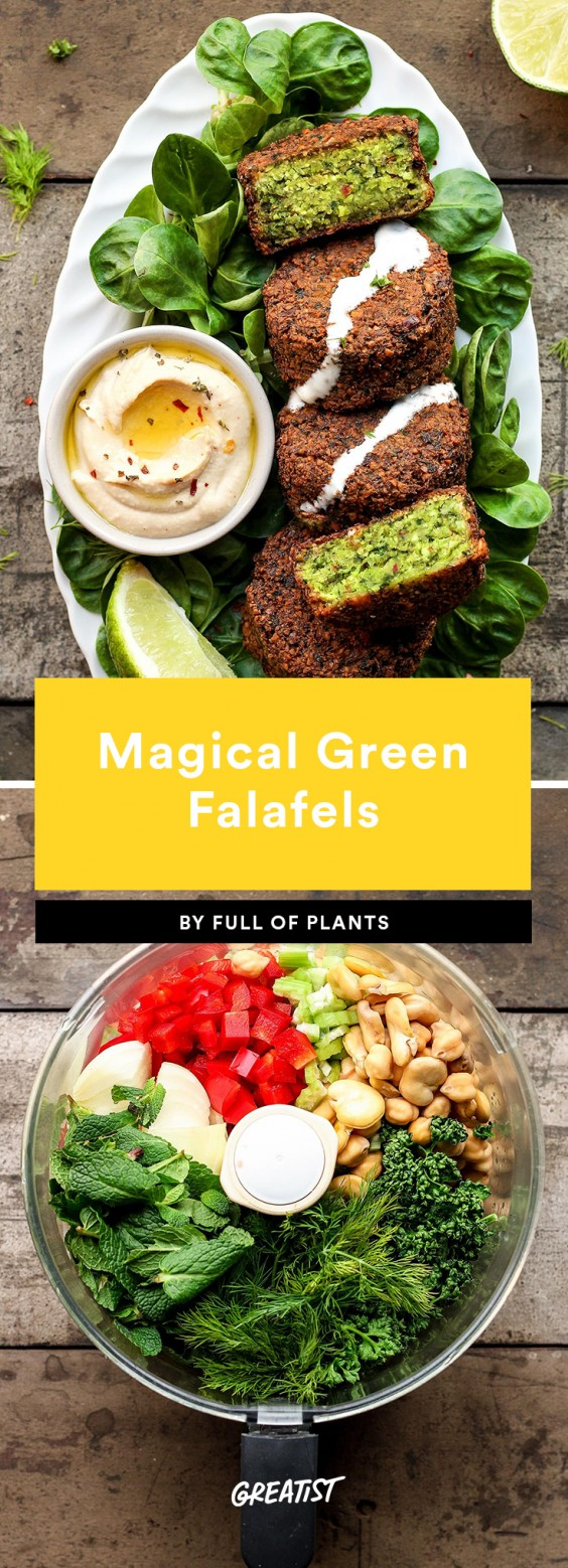 1. Magical Green Falafel