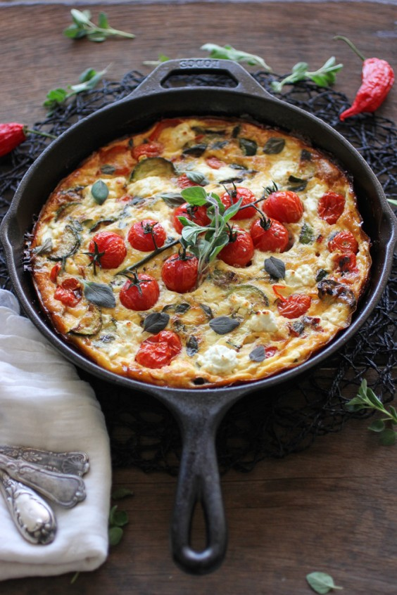Mediterranean Vegetable Frittata Recipe