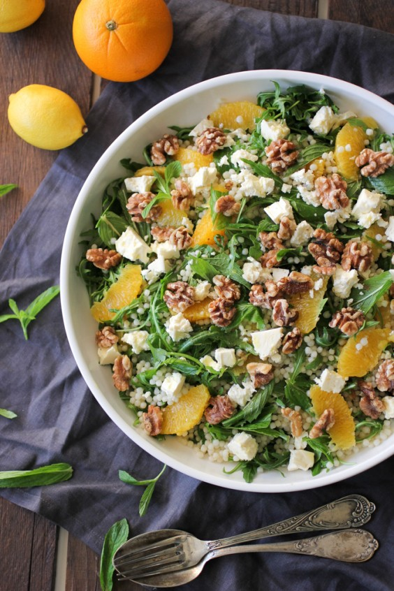 11. Pearl Couscous and Citrus Salad