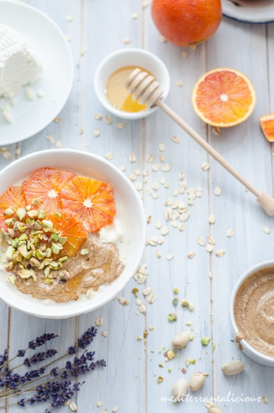 Mediterranean Flavored Overnight Oats Recipe