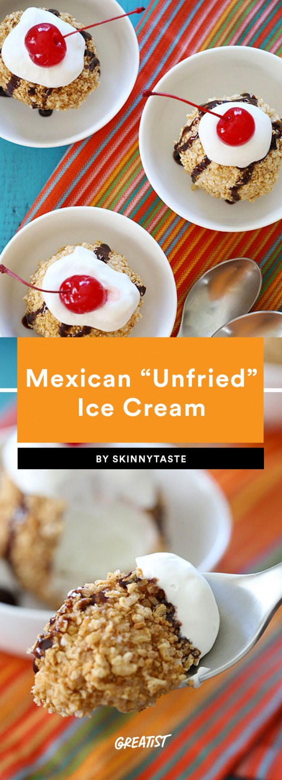 "2. Mexican ""Unfried"" Ice Cream"