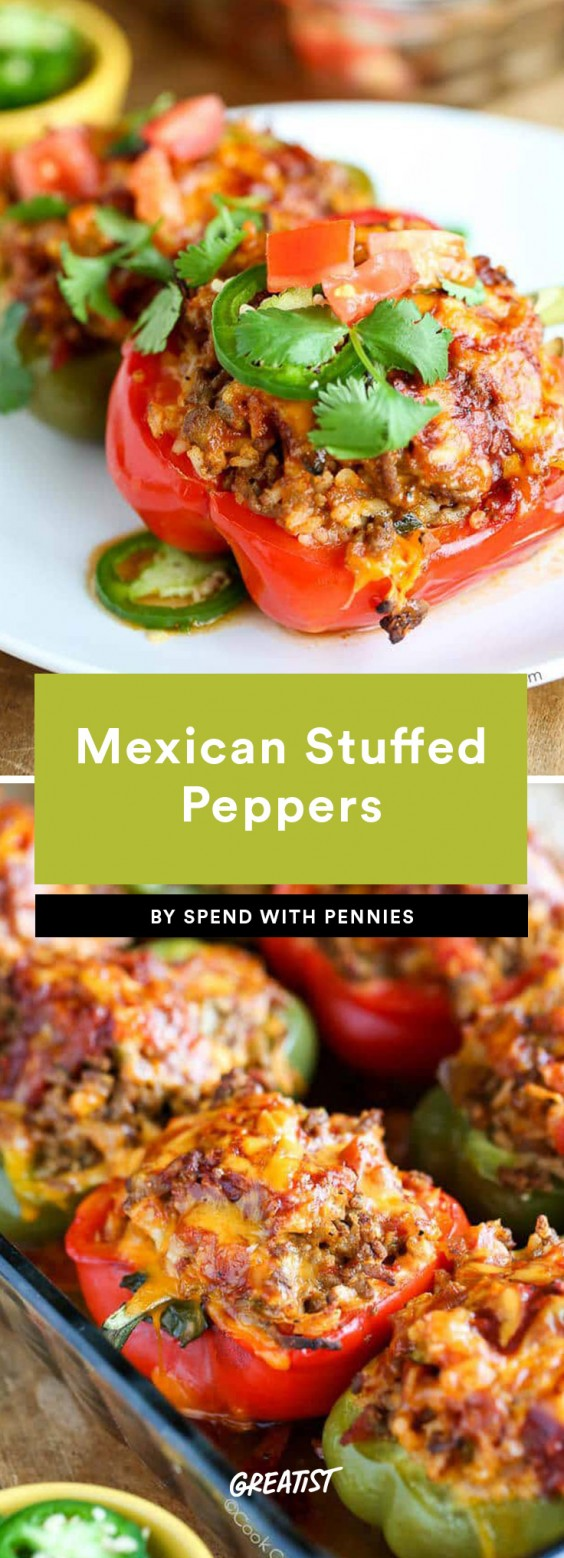 Stuffed Peppers Recipes That Are Healthy Yet Filling