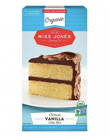 1. Miss Jones Baking Organic Vanilla Cake Mix
