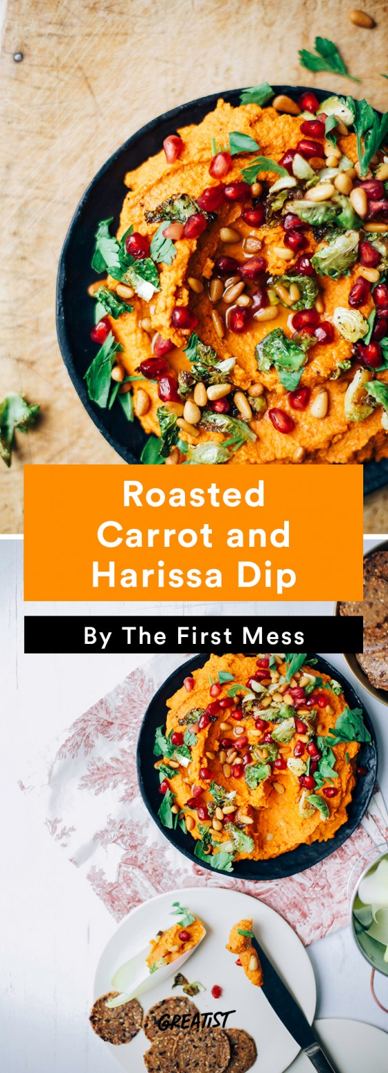 Better Dips: Carrot and Harissa