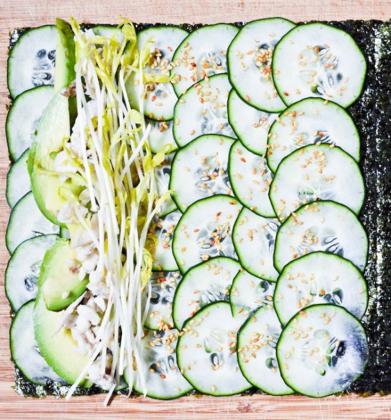 Cooking For Two: Nori Roll With Cucumber and Avocado Recipe