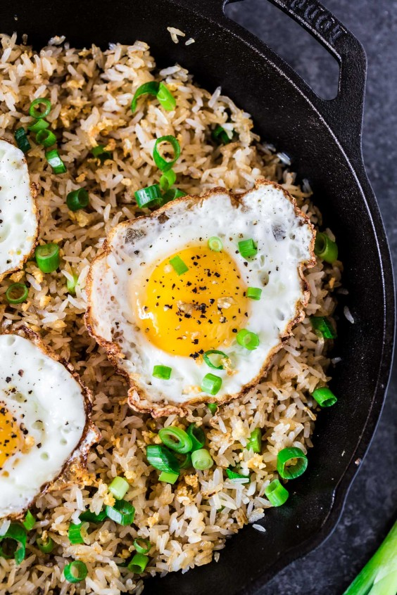 11. Filipino Garlic Fried Rice