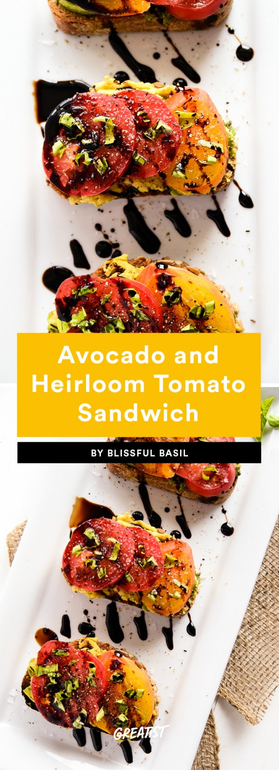 Avocado and Heirloom Toast