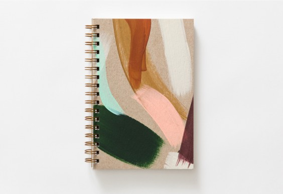 4 Moglea Painted Notebook