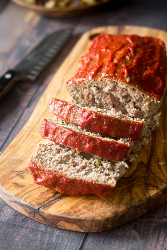 1. Easy Paleo Meatloaf