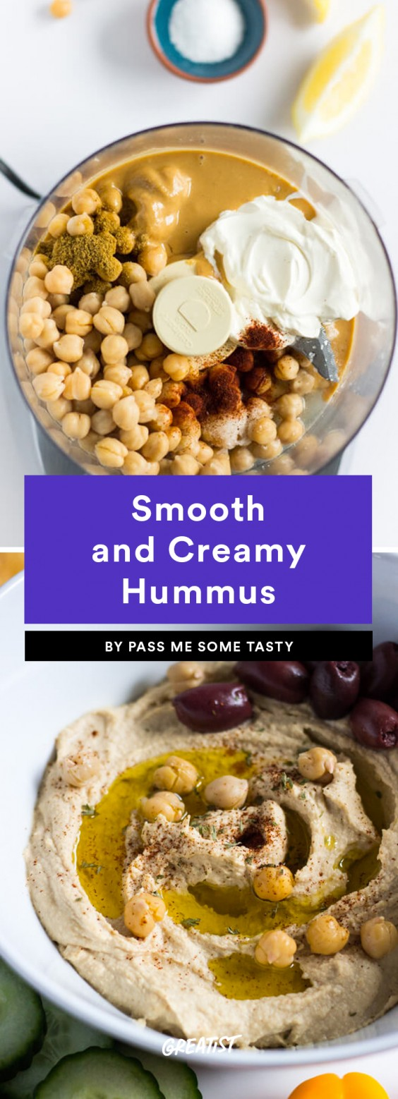 1. Smooth and Creamy Hummus