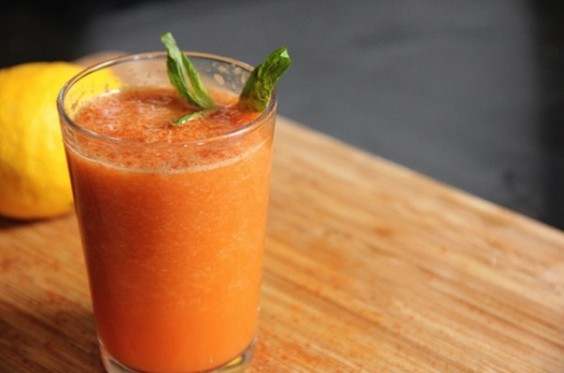 Pear Carrot Juice
