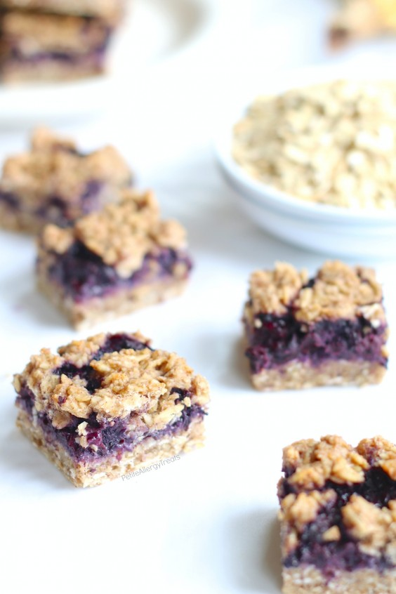 2. Gluten-Free Blueberry Breakfast Oat Bars