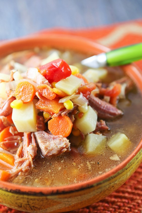2. Crock-Pot Ham Bone Soup