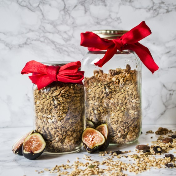 3. Chai Fig Granola