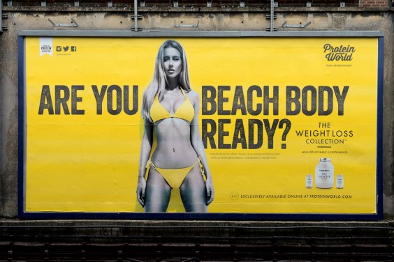 Controversial Beach Body Ad