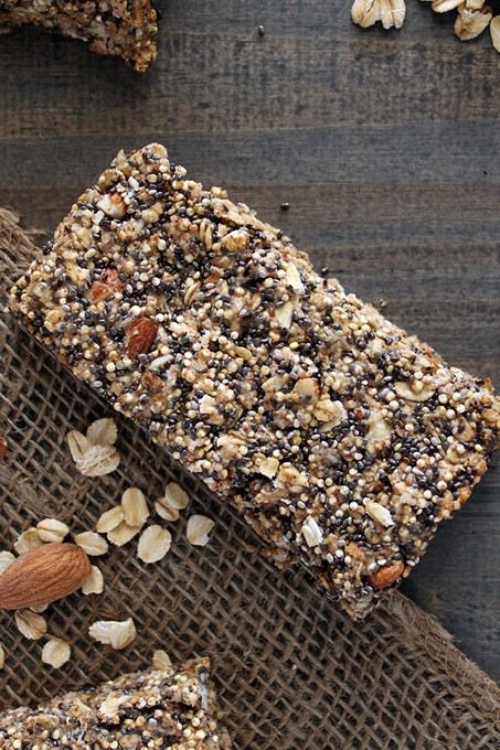 Quinoa and Chia Protein Bars