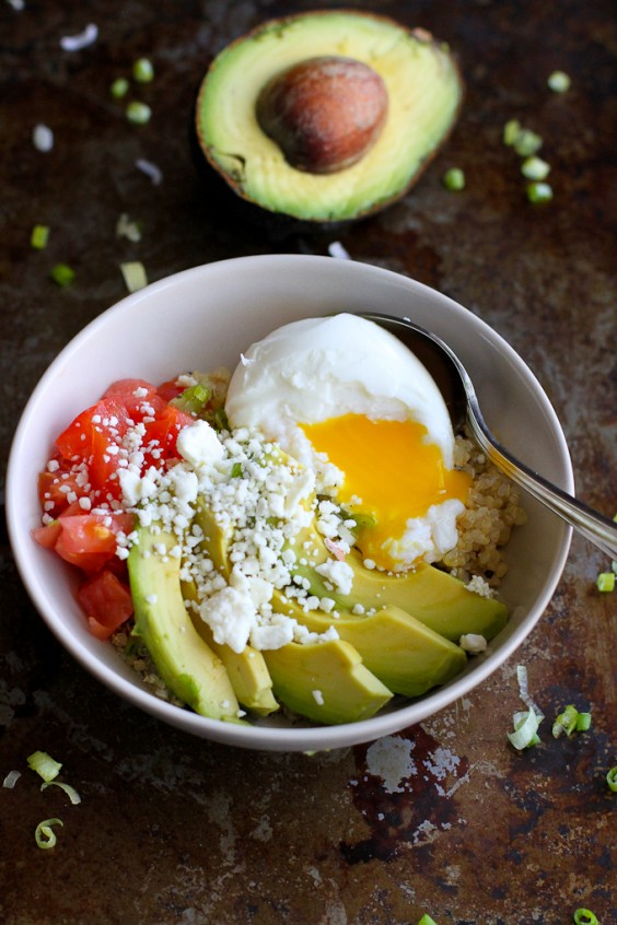 Cooking For Two: Quinoa Avocado Breakfast Bowl Recipe