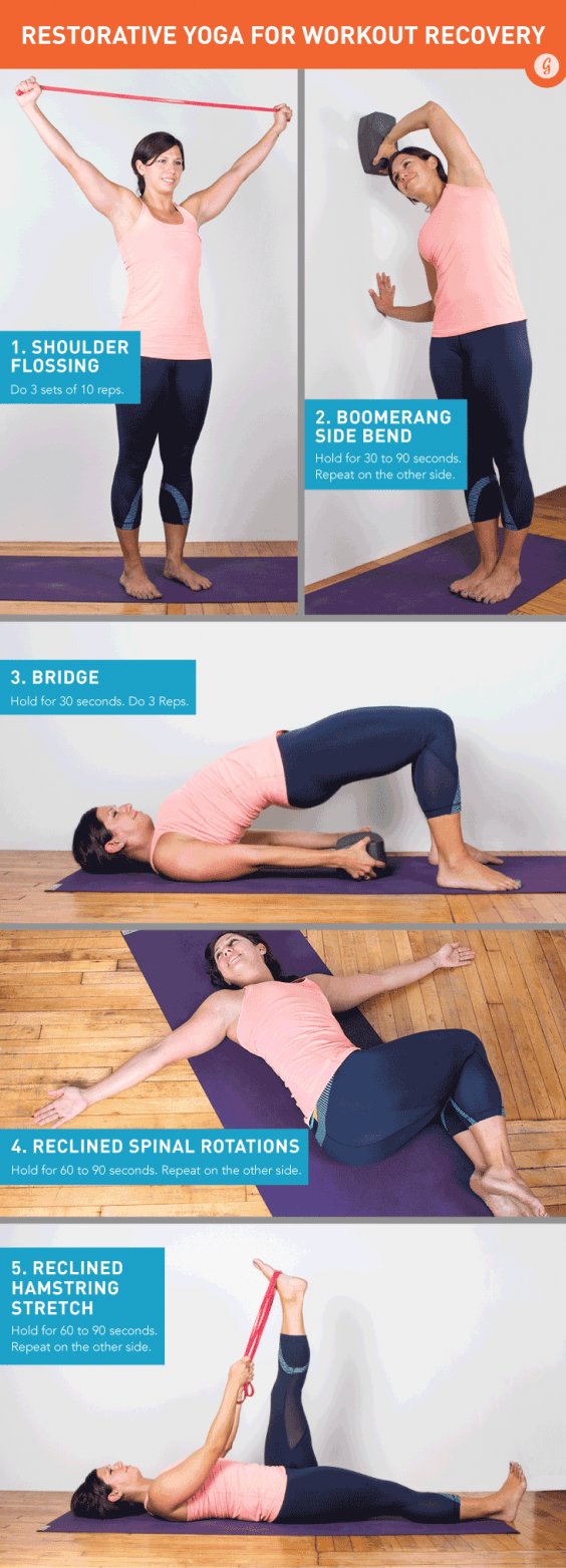 The Perfect Restorative Yoga Routine to Soothe Sore Muscles