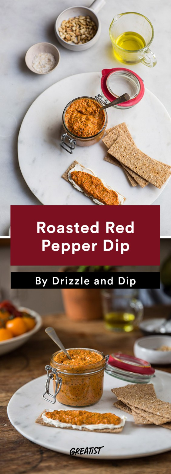 Better Dips: Red Pepper Pesto