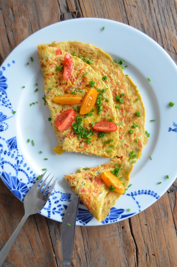 11. Paprika Lunch Omelet