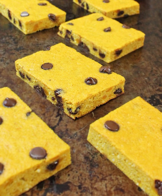 6. Chocolate Chip and Kabocha Breakfast Bars