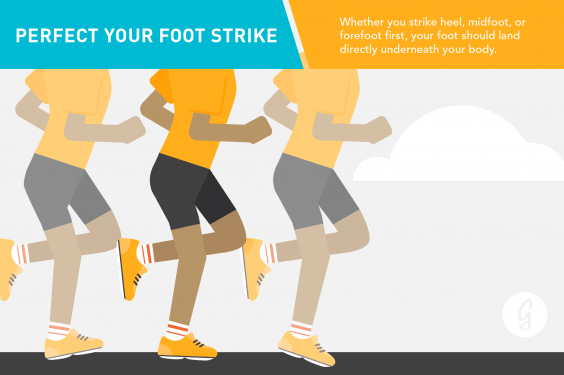 Running Form Foot Strike