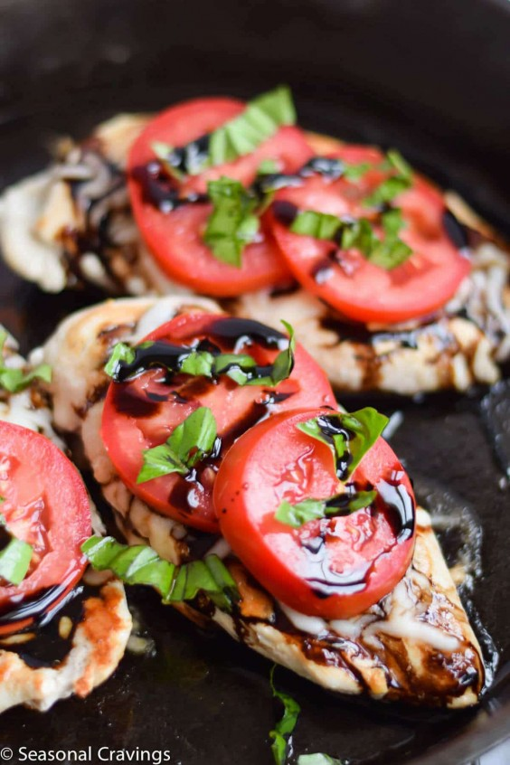 10. 5-Ingredient Caprese Chicken