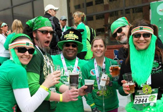 Races That Involve Booze - Shamrock 5K
