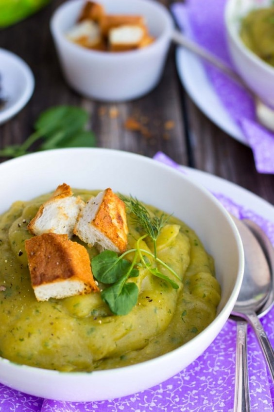 6. Chilled Watercress and Potato Soup With Dill